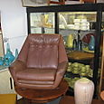 60's Danish Leather chair