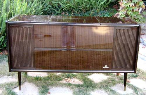 Grundig console stereo