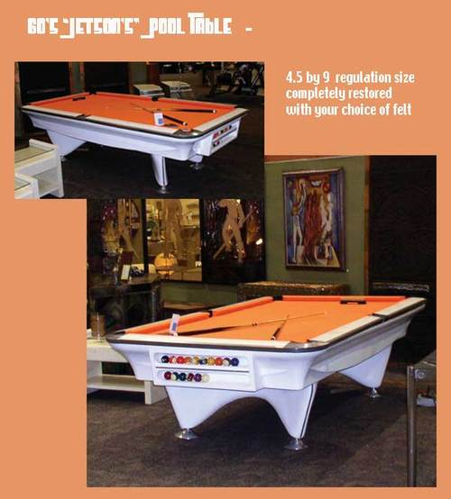 Jetson's 60's pool table